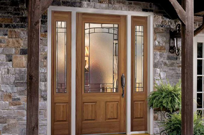 Exterior doors for Belleville fiberglass doors